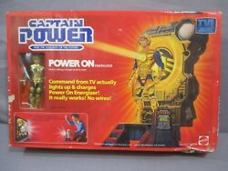 Captain Power POWER ON ENERGIZER Soldiers of the Future 1987 Mattel $49.99