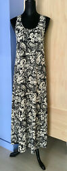 Joan Vass Sleeveless Long Dress Size M $10.00