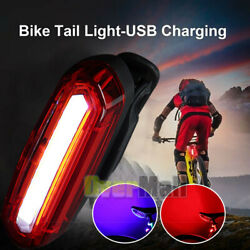 Rechargeable Bicycle Safety Cycling MTB Adult Mountain Road Bike LED Tail Light $12.69