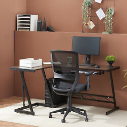 L shaped Computer Desk Study Desk with Keyboard Trayamp;CPU Stand Home Office Desk $79.97