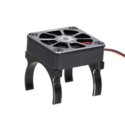 RC Motor Heatsink Cooling Fan with 2 Clamps amp; Adapter Cable for 540 550 E9O8 $14.00