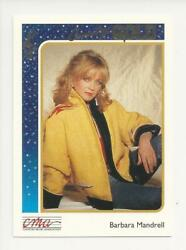 1992 STERLING CMA COUNTRY GOLD MUSIC ROOKIE CARD BARBARA MANDRELL FOIL PARALLEL