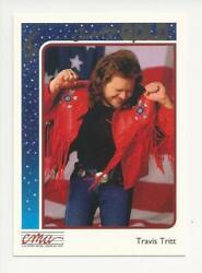 1992 STERLING CMA COUNTRY GOLD MUSIC ROOKIE CARD TRAVIS TRITT # 70 FOIL PARALLEL