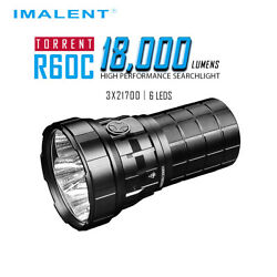 IMALENT R60C Tactical Flashlights spot 18000 Lumens Rechargeable Torch Strobe $189.95