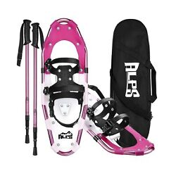 ALPS 14 17 19 21 25 27 30 Inch Snowshoes for Women Men Youth with Pair Antish... $138.10