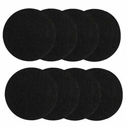 Compost Bin Filters for Kitchen Pail Activated Charcoal Replacement 8 Pieces New $15.07