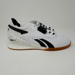 NEW Reebok Legacy Lifter II 2 Men#x27;s Weightlifting Training Shoes FU9458 White $149.98