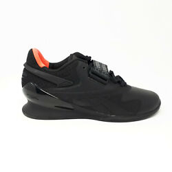 NEW Reebok Legacy Lifter II 2 Men#x27;s Weightlifting Training Shoes FY3538 Black $129.98