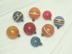 USA Antique Glass Unsilvered Ball WW 2 Christmas Ornament Decoration 1940#x27;s $25.00
