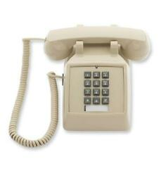 Aegis Traditional Desk Corded Phone Double gong Ringer Control AEGIS 2510 ASH $43.89