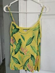 Womens Target A New Day Hawaiian Light Weight Tank Size M $15.00