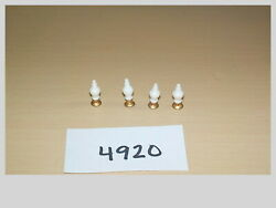 HO Scale Lanterns Lights Set of 4 Model Train Layout Accessories #4920 $12.99
