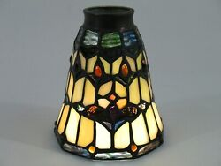 One Vintage Tiffany Style Stained Glass Ceiling Fan Lamp Shades Globe $34.99