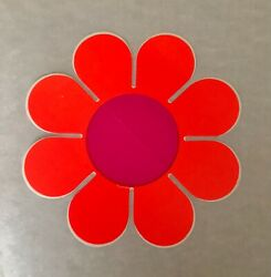 Original Vintage Flower Power Jumbo Sticker $9.99