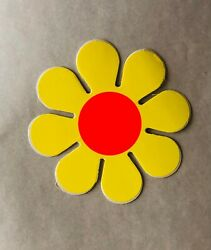 Original Vintage Flower Power Small Sticker $5.00