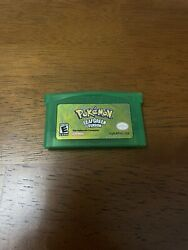 Reproduction Pokemon Leaf Green Gameboy Advance Game Works amp; Saves USA Seller $12.99
