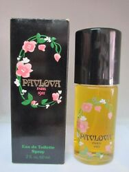 PAVLOVA PARIS 1922 Eau De Toilette Spray 2.0 Fl oz 60 ml Vintage For Women $39.99