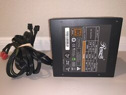 Rosewill Gaming 750W Power Supply 80 PLUS GOLD GAMING POWER SUPPLY TESTED WORKS $24.99
