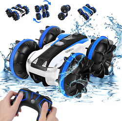 Amphibious Remote Control Car For Boys 8 12 Rabing Rc Cars 2.4Ghz High Speed Rc $43.99