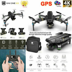 RC Drone GPS With 3 Axis Gimbal 8K 5G HD Camera WIFI FPV RC Quadcopter Brushless $197.65