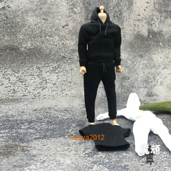 1:12 Hoodie Pants Trousers Clothes Fit 6#x27;#x27; SHF Fig Mfex Male Soldier Figure Body $11.48