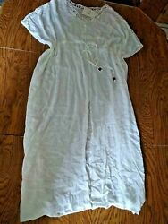 Raviya White Beach Cover Up Size Small $19.95