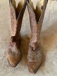 Justin#x27;s women#x27;s size 11C western boots $75.00