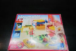 Playmobil 5333 Boy and Girl#x27;s Bedroom for 5302 Mansion $30.00