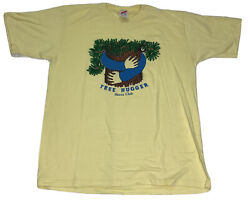 Vintage Tree Hugger Sierra Club T Shirt Size Large L Single Stitch Yellow $39.95