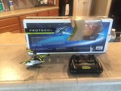 Protocol THRESHER Helicopter For Parts Not Working. $5.00