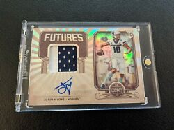 2020 Panini Legacy Jordan Love Futures Patch Auto Autograph RC RPA 249 SP $69.99