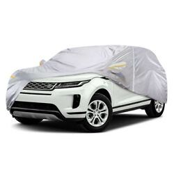 Medium Waterproof Full SUV Car Cover Outdoor For Land Rover Range Rover Evoque