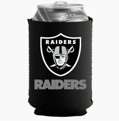 Raiders Black Collapsible Can Coolie Free Shipping $8.90