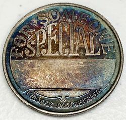 Merry Christmas For Someone Special 1oz .999 Fine TONED $45.95