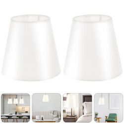 2pcs Lightweight Durable Protective Lamp Cover Cloth for Chandelier $12.46
