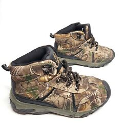 Realtree Xtra Boys Girls Youth Size 1Y Camo Boots Hunting Hiking Kids Snow Water $14.95