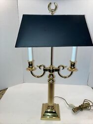 Beautiful Baldwin Smithsonuan Institution Brass Lamp $235.00
