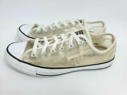 Converse All Star Women Size 5 Clear Transparent Chuck Taylor Sneakers Shoes $34.99