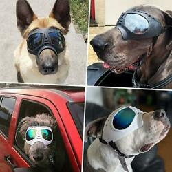 New Pet Dog Goggles UV Sunglasses Windproof Snowproof For Large Dog Z7D8 $18.79