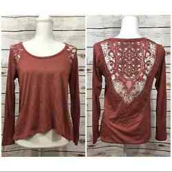 Taylor and sage top lace boho Nordstrom $18.00