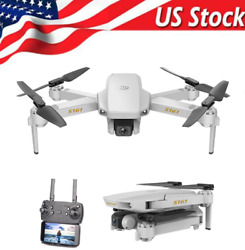 S161 Mini Pro Drone FPV with 4K HD Camera Foldable RC Quadcopter for Kids N1F8 $34.31