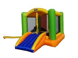 My first jump amp; play inflatable bounce house with blower ages 2 8 250 lb max $130.00