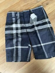 Burberry Boys 12Y SHORTS NWT $50.00