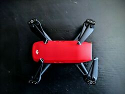 DJI Spark Fly More Combo 1080p Camera Drone Red $270.00