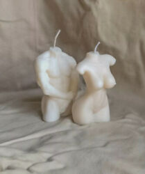 Soy Candle White Female Male Set of two candle $21.69
