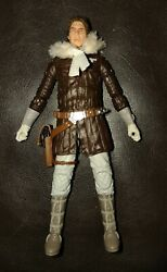 Star Wars Black Series 6quot; Inch Convention Hoth Han Solo Loose Figure COMPLETE $18.00