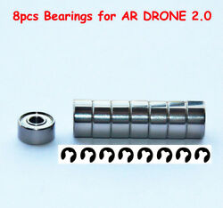 Parrot AR Drone Quadcopter 2.0 amp; 1.0 Part Upgrade Drive Gear Bearings 8pieces $4.90