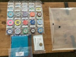Abbiati Gaming Supply Company Salespersons Sample Kit...Very rare indeed $200.00