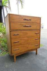 Mid Century Modern Tall Chest of Drawers 2028 $990.00