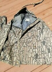 Cabela#x27;s Vintage quot;Tree Barkquot; Camouflage Top And Pants Size Large $49.99